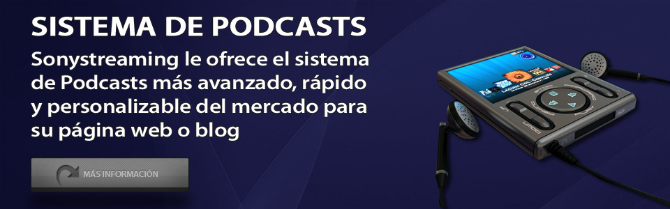 Sonystreaming - Sistema de Podcasts